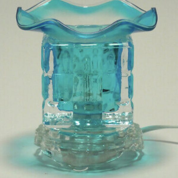 Fragrance Oil Lamp (Blue)