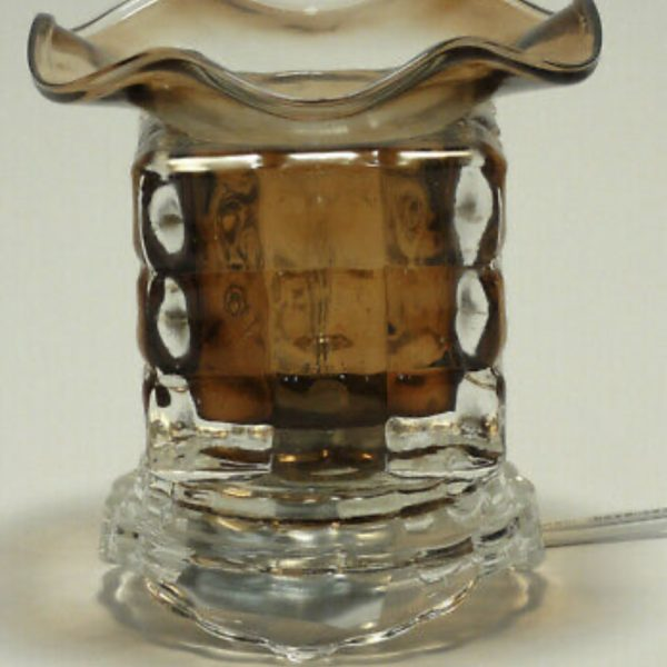 Fragrance Oil Lamp (Bronzey-Brown)