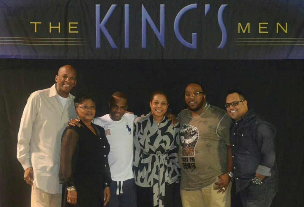 The King's Men - Donnie McClurkin, Kirk Franklin, Marvin Sapp & Israel Houghton